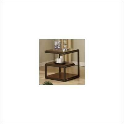 Riverside Furniture Escapade End Table in Dark Walnut