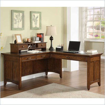 Riverside Furniture Falls Village L-Desk and Return
