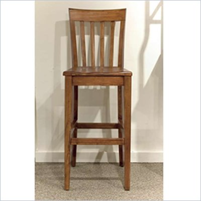 Riverside Furniture Harmony Slat Back Bar Stool