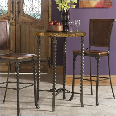 Riverside Furniture Medley Marbletop Pub Table