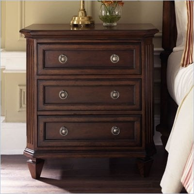 Riverside Furniture Middleton Nightstand in Distressed Spiced Cherry