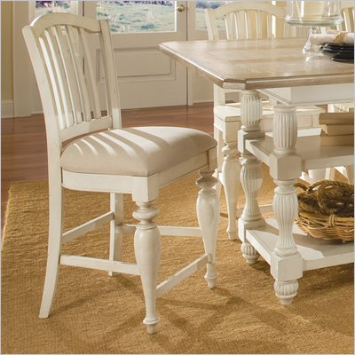 Riverside Furniture Mix-N-Match Center Height Chair in Dover White