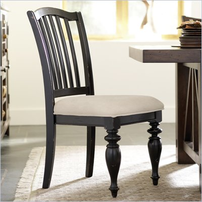 Riverside Furniture Mix-N-Match Side Chair  in Distressed Black