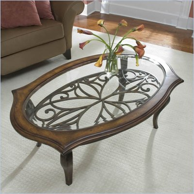 Riverside Serena Oval Coffee Table