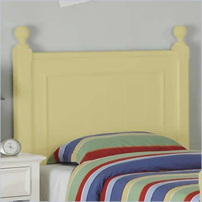 Riverside Furniture Splash of Color Twin Panel Headboard in Buttercup