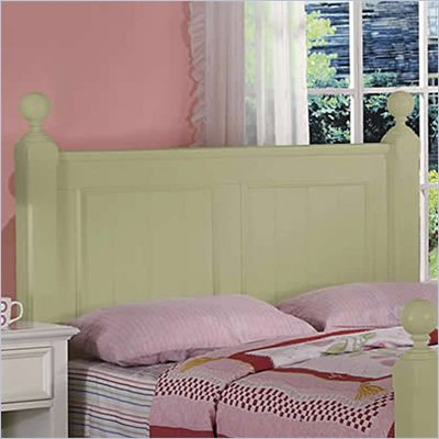 Riverside Furniture Splash of Color Queen Panel Headboard in Ivy