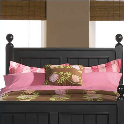 Riverside Furniture Splash of Color King Panel Headboard in Antique Black