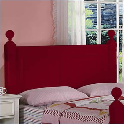 Riverside Furniture Splash of Color King Panel Headboard in Chili