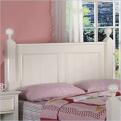Riverside Furniture Splash of Color King Panel Headboard in Shores
