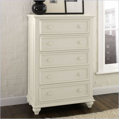 Riverside Furniture Splash Of Color Chest in Shores White
