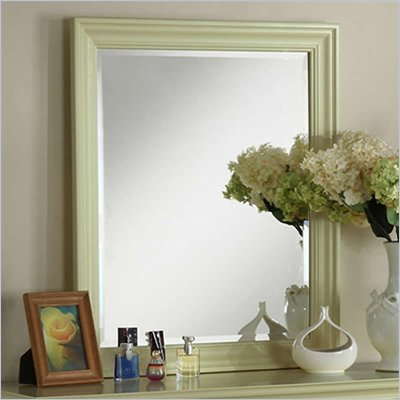 Riverside Furniture Splash of Color Vertical Mirror in Ivy