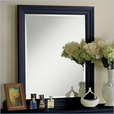 Riverside Furniture Splash of Color Vertical Mirror in Navy