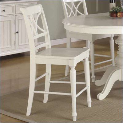 RiverArm Furniture XX-Back Back Counter Stool in Shore