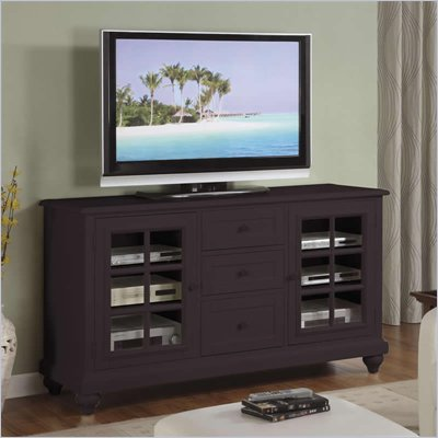 Riverside Furniture Splash of Color 60-Inch TV Console in Antique