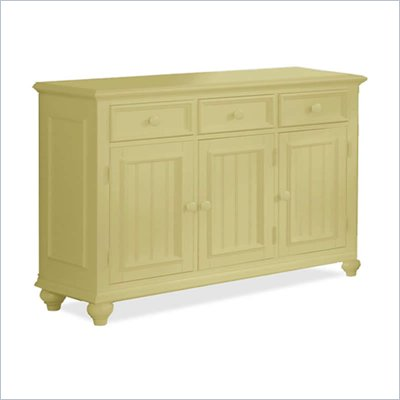 Riverside Furniture Splash of Color Server in Buttercup