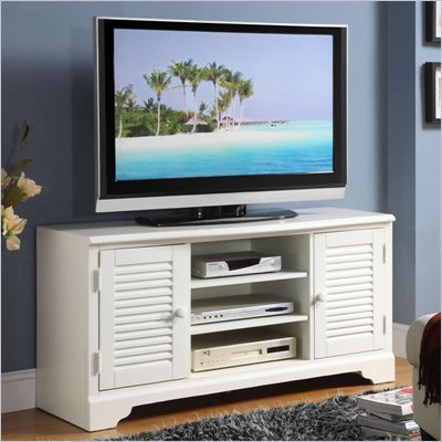 Riverside Furniture Splash of Color 50-Inch TV Console in Shores