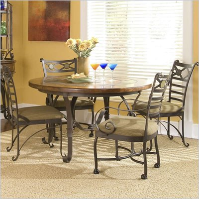 Riverside Furniture Stone Forge Round Dining Table