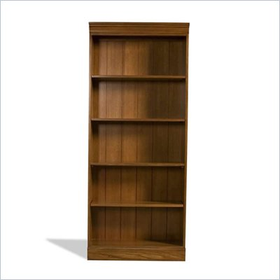 Riverside Furniture Woodland's Oak 72 Inch Bookcase