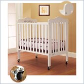 Orbelle Tina Three Level Standard Wood Crib in White