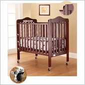 Orbelle Tina Three Level Standard Wood Crib in Cherry