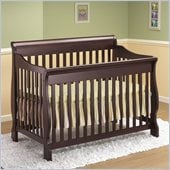Orbelle 4-in-1 Convertible Wood Crib in Cherry