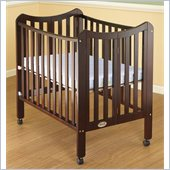 Orbelle Tian Two Level Portable Crib in Cherry