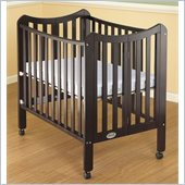 Orbelle Tian Two Level Portable Crib in Espresso