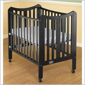 Orbelle Tian Two Level Portable Crib in Black