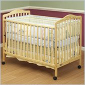 Orbelle Jenny 3-in-1 Convertible Wood Crib in Natural