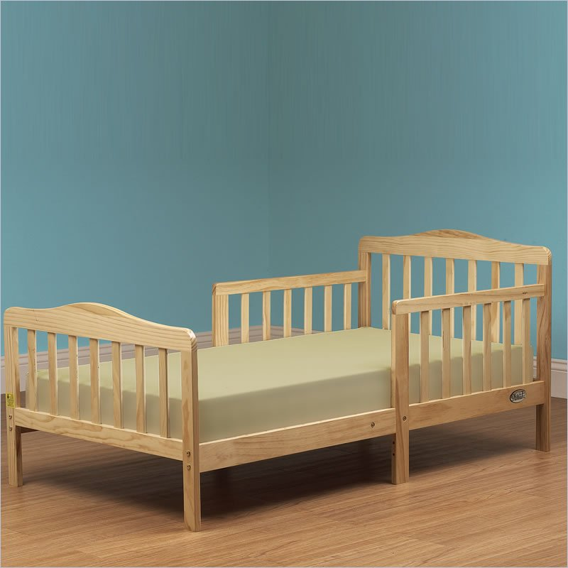 Dont Wait Orbelle Contemporary Solid Wood Toddler Bed In