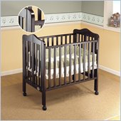 Orbelle Tina Three Level Standard Wood Crib in Espresso