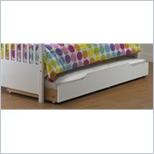 Orbelle Trundle Storage Bed Drawer in White