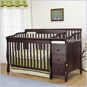 Orbelle Sarah Crib N Bed in Espresso Finish