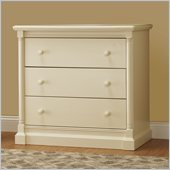 Orbelle Imperial Contemporary 3 Drawer Chest in French White