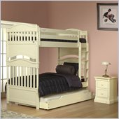 Orbelle Imperial Bunk Bed 2 Piece Bedroom Set in French White