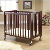 Orbelle Lilly Commercially Rated Portable Crib Cherry