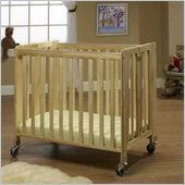 Orbelle Lilly Commercially Rated Portable Crib Natural