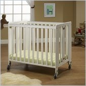 Orbelle Lilly Commercially Rated Portable Crib White