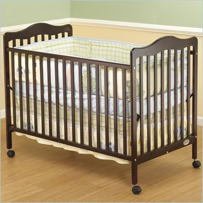 Orbelle Emma 3-in-1 Convertible Wood Crib in Cherry