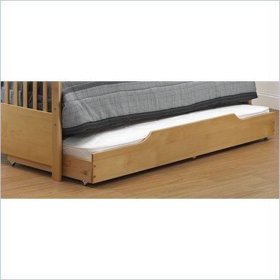 Orbelle Trundle Storage Bed Drawer in Natural