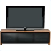 BDI Casata Flat Panel or Rear Projection TV Stand in Natural Walnut