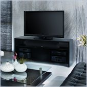 BDI Casata Wood Flat Panel/Plasma TV Stand in Black Stained Oak