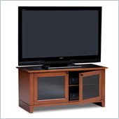 BDI Novia Wide Wood TV Stand in Natural Stained Cherry