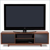 BDI Cirrus Triple-Wide Cabinet TV Stand in Natural Stained Cherry