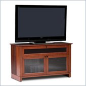 BDI Novia Double-wide cabinet TV Stand in Natural Stained Cherry