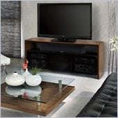 BDI Casata Wood Flat Panel/Plasma TV Stand in Natural Walnut