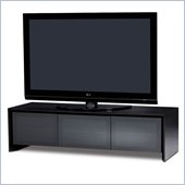 BDI Casata Flat Panel or Rear Projection TV Stand in Black Stained Oak