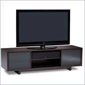 BDI Cirrus Triple-Wide Cabinet TV Stand in Espresso Stained Oak
