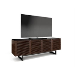 BDI Corridor TV Console in Chocolate Stained Walnut