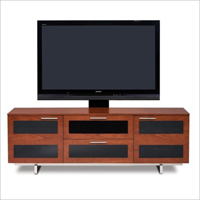 BDI Avion II Flat Panel Cabinet TV Stand in Natural Stained Cherry